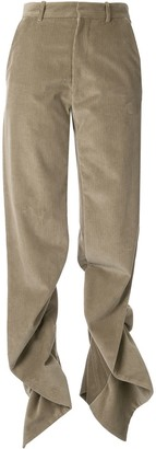 Y/Project Ruffle Seam Trousers
