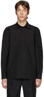 Random Identities Black Button-Up Shirt