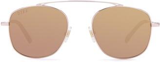 DIFF Asher 51mm Aviator Sunglasses