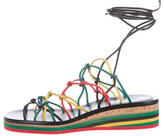 Chloé 2016 Lace-Up Leather Sandals w/ Tags