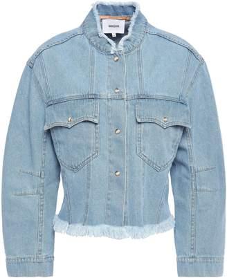 Nanushka Cyphre Frayed Denim Jacket