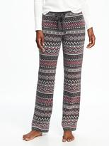 Old Navy Micro Fleece Drawstring Pants for Women