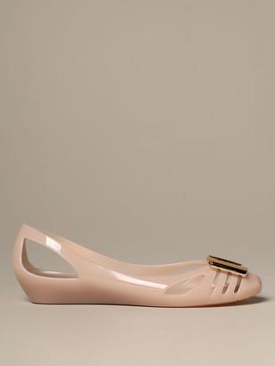 Salvatore Ferragamo Ballet Flats Jelly Ballerina In Rubber With Bow
