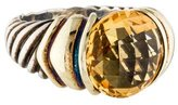 David Yurman Two-Tone Citrine Capri Ring