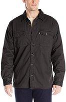 Levi's Men's Rittner Long Sleeve Twill Sherpa Lined Shirt Jacket