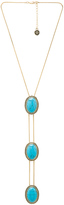 House Of Harlow Tanta 3 Tier Bolo Pendant