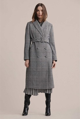 Witchery Check Coat