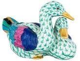 Herend Pair of Ducks Figurine