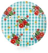 Certified International Frida Aqua Melamine Dinner Plate