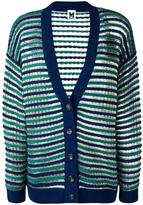 M Missoni round neck cropped cardigan - women - Polyamide/Viscose/Wool/Metallic Fibre - XS