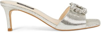 Nine West Masen Heeled Slide Sandals