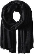 Steve Madden Solid Knit Blanket Wrap