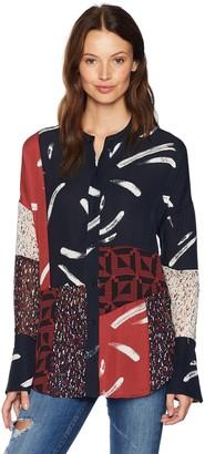 Joie Women's Brunonia Long Sleeve Printed Blouse