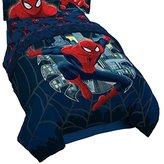 Marvel Spiderman Microfiber Twin/Full Quilt Stitch Reversible Comforter