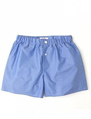 Emma Willis Sky Cristallo - Patchwork Boxer Shorts