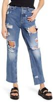 Only Roxy High Waist Straight Leg Jeans