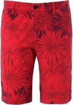Regular Fit Printed Bermuda Shorts