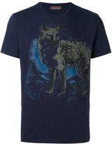 Etro animal print T-shirt
