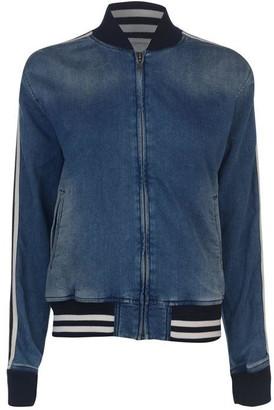 Pepe Jeans Brandy Denim Bomber Jacket Ladies
