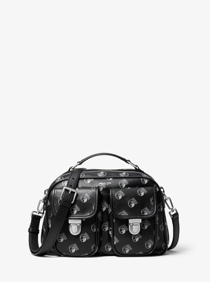 Michael Kors Kennedy Studio 54 Calf Leather Camera Bag