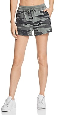 Splendid Camo Drawstring Shorts