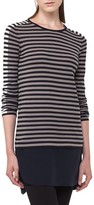 Akris Punto Women's Multicolor Stripe Stretch Wool Pullover