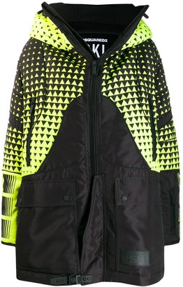 DSQUARED2 oversized ski coat