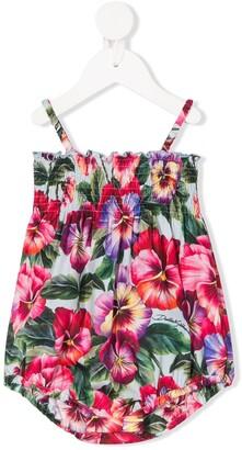 Dolce & Gabbana Kids Floral-Print Body