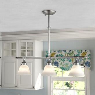 Andover Mills Gurney 3-Light Kitchen Island Linear Pendant