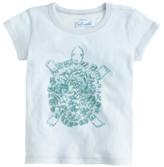 J.Crew Girls' sequin turtle T-shirt
