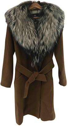 Aquascutum London Camel Fox Coat for Women