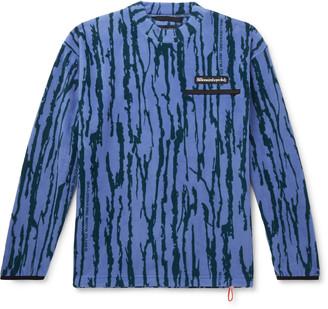 Billionaire Boys Club Logo-Embroidered Waffle-Knit Cotton-Jersey Sweatshirt