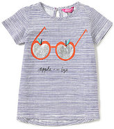 Joules Baby/Little Girls 12 Months-3T Maggie Striped Apple Top