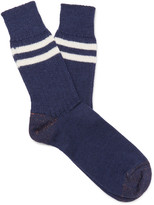 Junya Watanabe - Striped Wool Socks