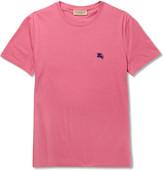 Burberry Cotton-jersey T-shirt - Pink