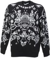 Givenchy Printed Black Cotto Sweater