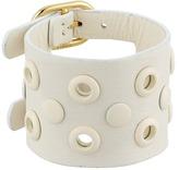 Marc by Marc Jacobs Large Peephole Leather Bracelet
