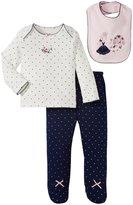 Little Me Princess Dot Set (Baby) - Navy-9 Months