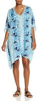 Parker Beach Playa Beaded Tunic Swim Cover-Up