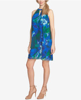 CeCe Printed Shift Dress