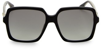 Gucci 56MM Square Acetate Sunglasses