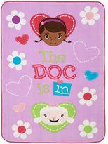 "Disney Doc McStuffins ""Doc Is In"" Plush Blanket"