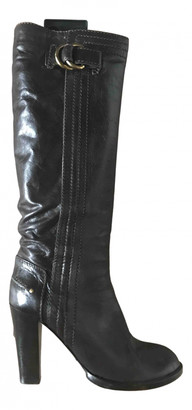 Chloã© ChloA Brown Leather Boots