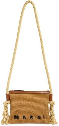 Marni Marcel Canvas Summer Crossbody Bag
