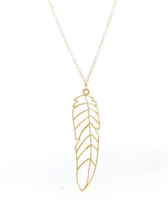 Kris Nations Large Pluma Necklace