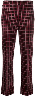 Marni Checked Cropped Trousers