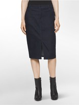 Calvin Klein Denim Pencil Skirt