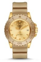 Emporio Armani Men's AR6084 Sport Gold Silicone Watch