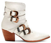 Matisse Harvey Leather Embossed Boots