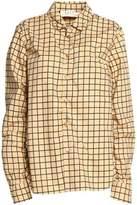 Marni Checked Cotton-Poplin Shirt